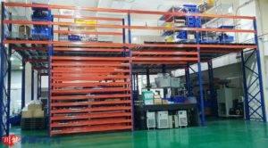 實績:樓層結構設計,層板貨架存放規劃