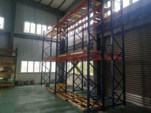 重型架、水平後推、雙板後推、多板儲存、倉儲架